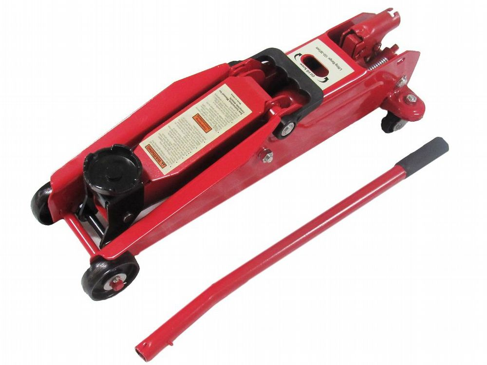2 Ton Hydraulic Floor Lifting Trolley Jack 'Quick Lift' - Car Vehicle Van Garage 2000KG